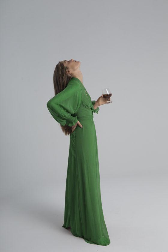 vestido BIBURY VERDE