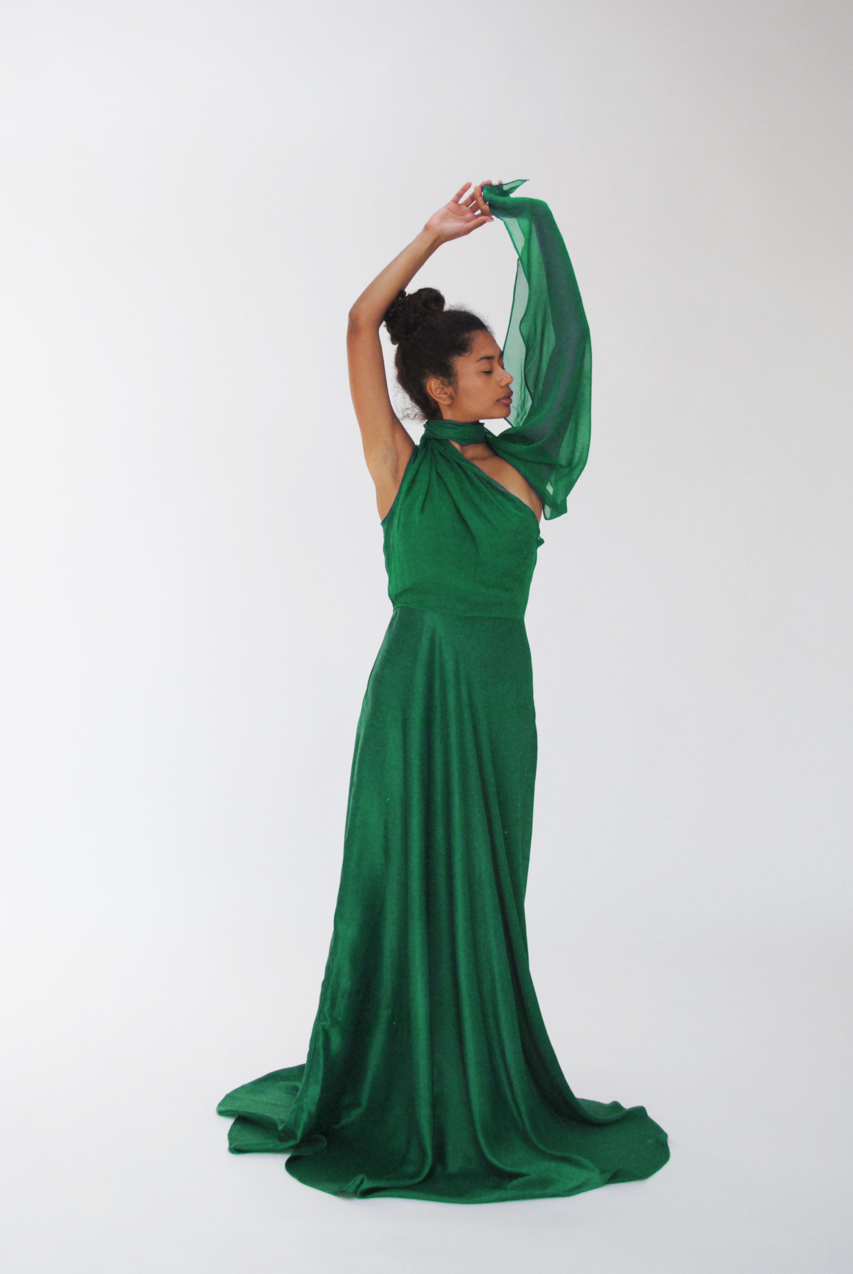 Vestido MARGARET verde