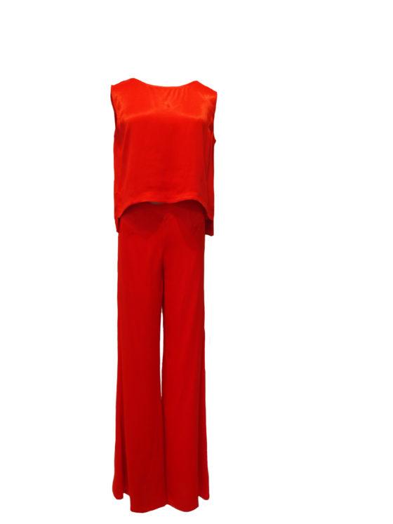 Pantalon LOSSESENTA rojo