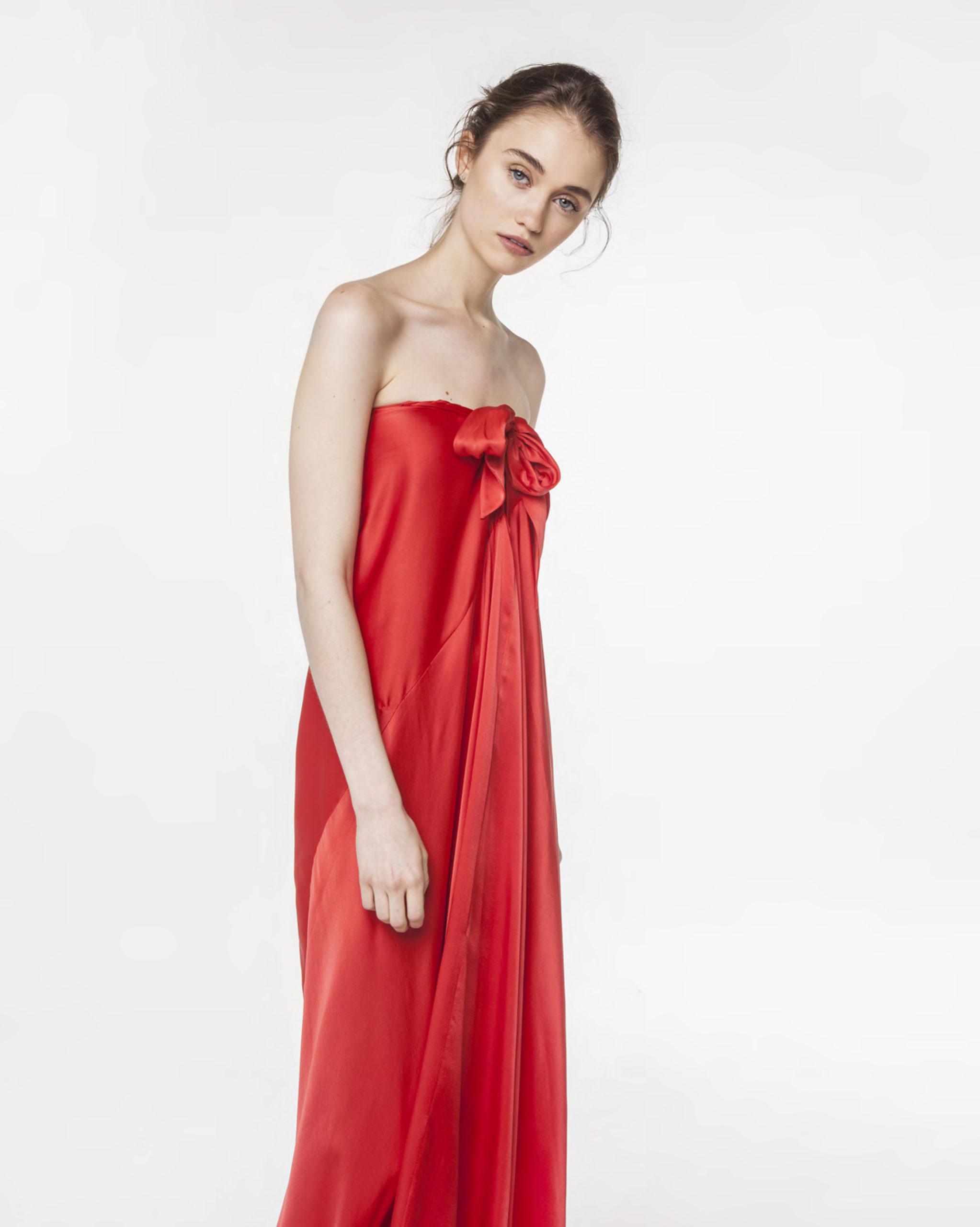 vestido parasiempre rojo