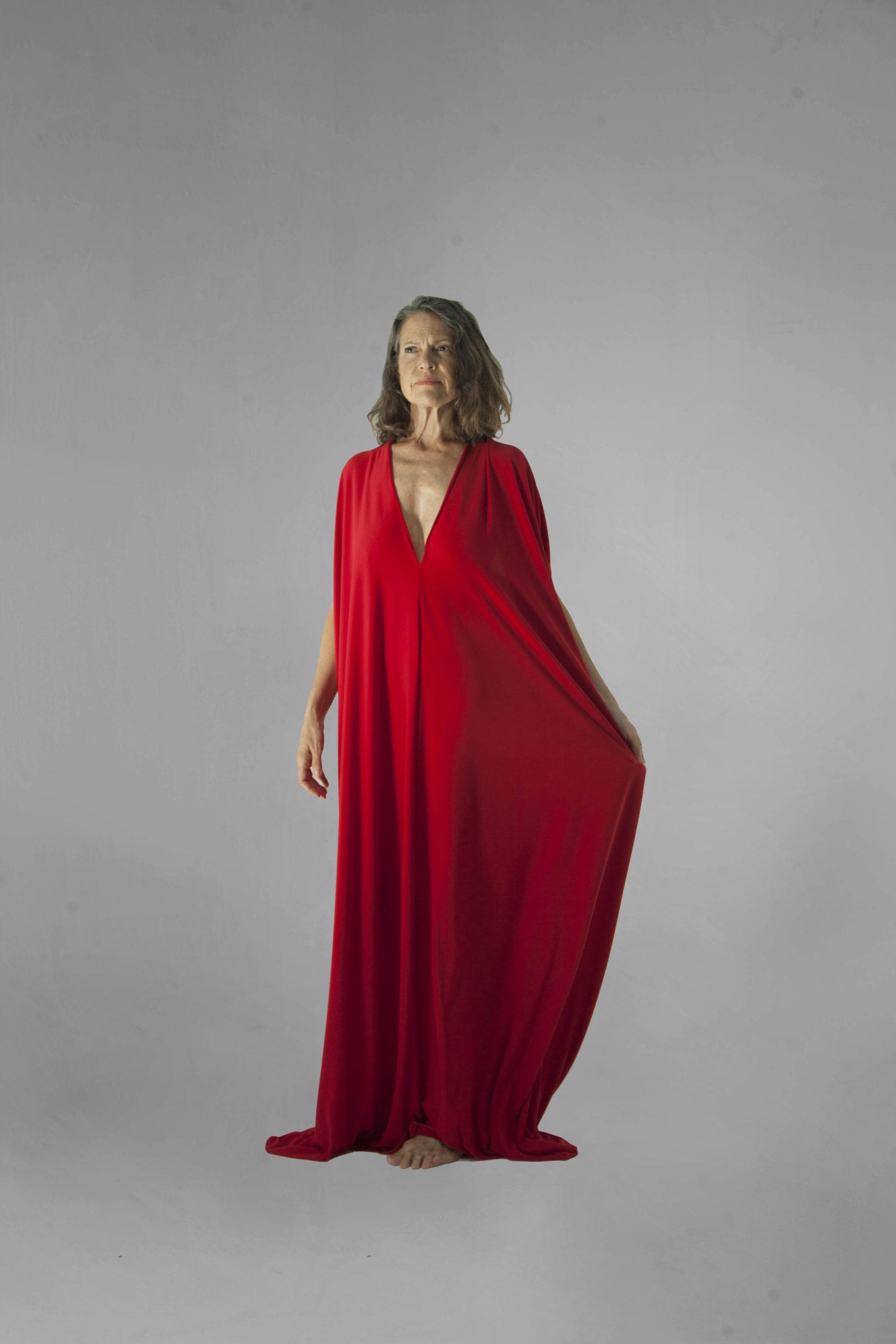 vestido elei rojo frontal