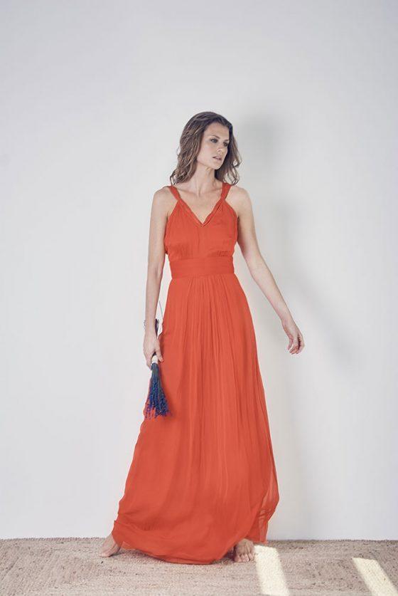 vestido-rojo-naranja-largo-1