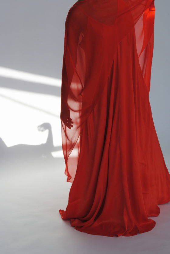 vestido tulipan